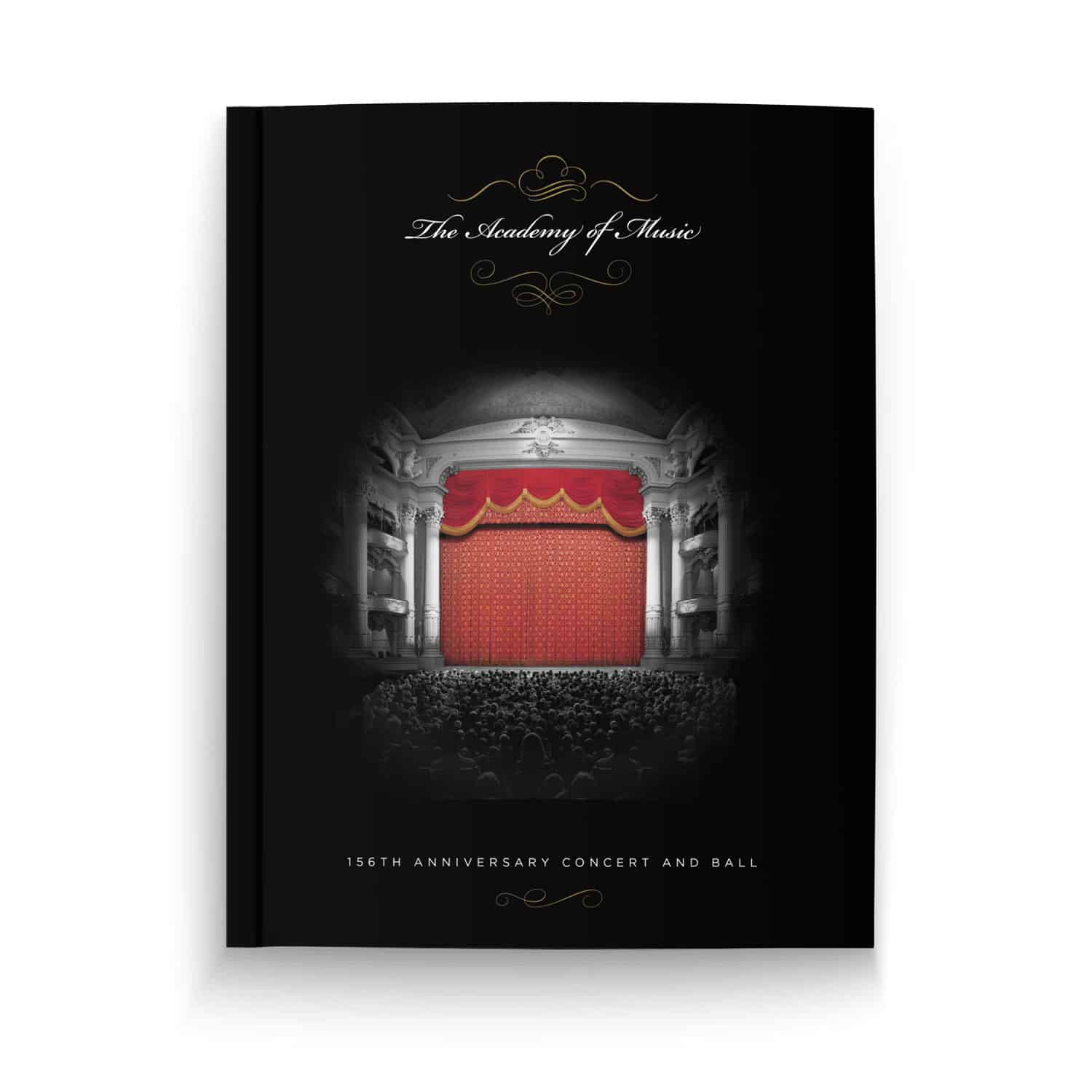 Academy of Music, 156th Anniversary Concert and Ball Program Book
