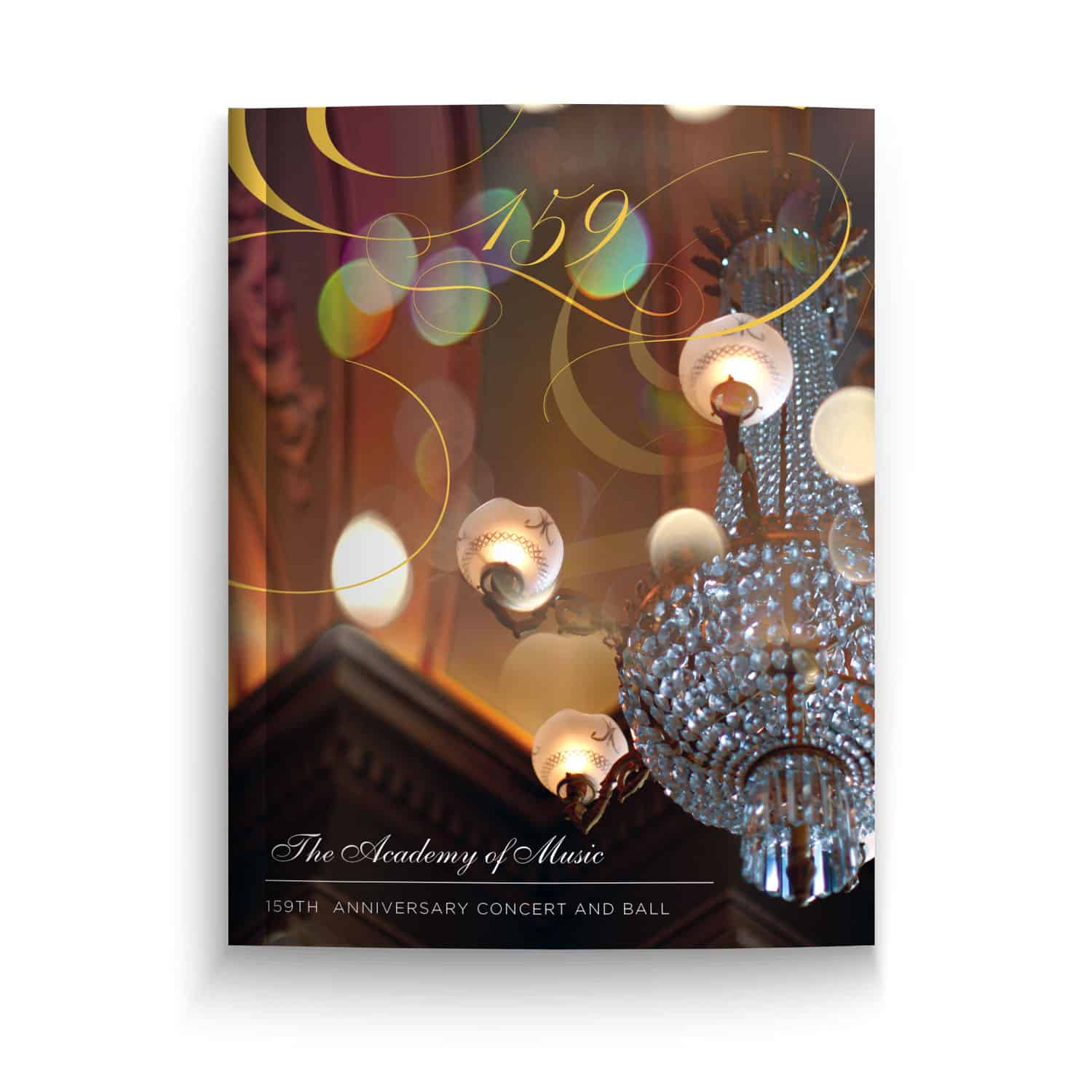 Academy of Music, 159th Anniversary Concert and Ball Program Book